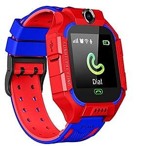 Fantasy Smartwatch für Kinder, Smart-Watch, LBS Tracker, Sprach-Chat, SOS 2-Wege-Anrufuhr, Touchscreen, Kamera, Smartwatch für 3–12 Jahre, für Jungen und Mädchen, modisch, Weihnachten, Geburtstag