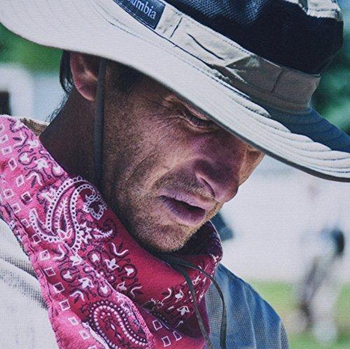 3drose 20,3x 20,3x 0,6cm Maus Pad ein Mann mit einem roten Taschentuch um den Hals und ein Cowboy Hat auf bei einer Trekkingtour für LDS Kirche (MP 55893_ 1) -