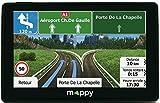 Mappy GPS Iti E438T (Écran : 4,3 Pouces - 24 Pays - Mise à jour gratuite jusqu'à 4 fois par an)...