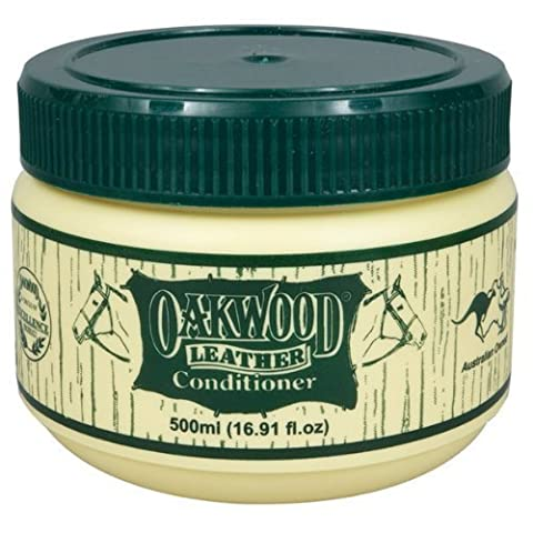 Oakwood Leather Conditioner x 500ml tub. Tack, Leather & Harness Conditioner