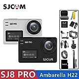 ZYJANO Action Kamera Action Kamera 4K 60FPS WiFi Remote Helm Kamera Ambarella Chipset 4K @ 60FPS Ultra HD Extreme Sport-DV-Kamera