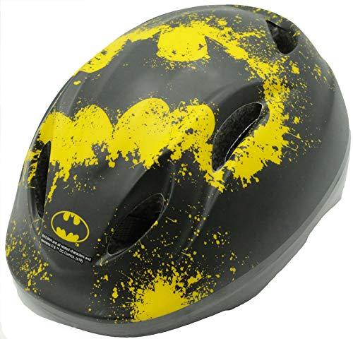 Unbekannt Disney Kinderfahrradhelm Kinder Fahrradhelm Kinderhelm Fahrrad Rad Schutzhelm Helm Batman 51-55 cm