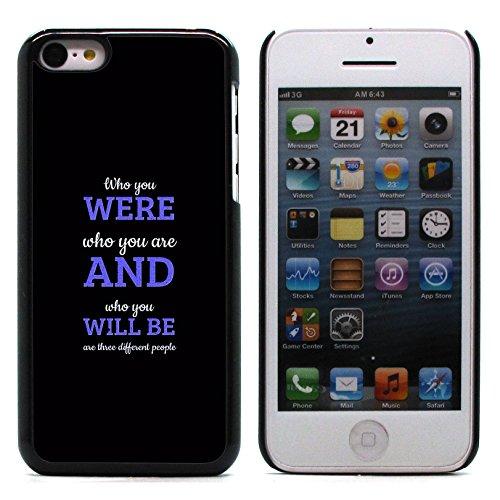 "Graphic4You ""Expect Nothing..."" Life Proverb Zitat Design Harte Hülle Case Tasche Schutzhülle für Apple iPhone 5C Design #1"