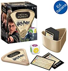 Winning Moves - Trivial Pursuit Harry Potter Bitesize, Versione Italiana, 00673