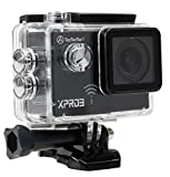TecTecTec Actionkamera XPRO3 Ultra HD Sport Action Kamera Action Camera WIFI 4K Full HD 1080P Sport...