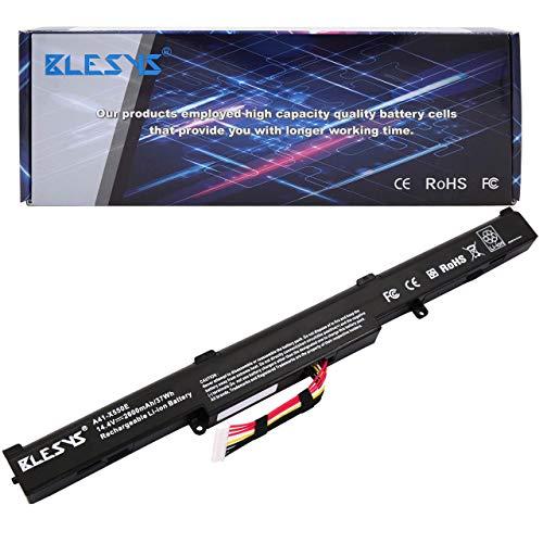 BLESYS A41-X550 Ersatz für Laptop Akku ASUS R752L R752LA R752LAV R752LB R752LD R752LDV R752LJ R752LJC R752LK R752LN R752LX R752SA-TY042T R751 R751J R751JA R751JB R751JK R751JM R751JN R751JX Batterie