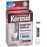 kerasal hongos de renovación de uñas 10ml, restaura la apariencia saludable de las uñas discolored o dañado por hongos en las uñas o psoriasis.