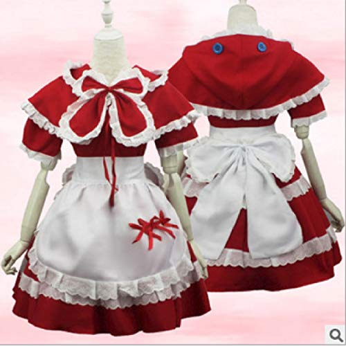 Butterfly BB League of Legends lolcos Rotkäppchen Umhang Anne Maid Pack Cosplay für Erwachsene Performance Cosplay - League Of Legends Cosplay Kostüm