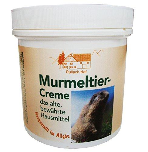 3 x 250ml Murmeltier-Creme vom Pullach Hof Murmeltiercreme hergestellt im Allgäu