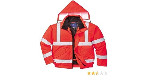 2X-Large Red//Navy Portwest TX50RNRXXL Lille Hi-Vis Jacket