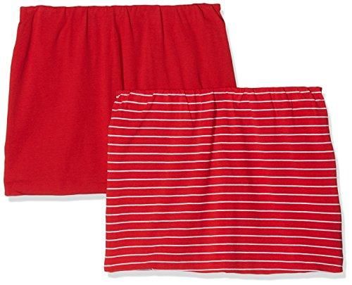 Ulla Popken Große Größen Damen Rock Shirtverlängerung 2er Pack, Rot (Rot 51), 56 (Herstellergröße: 54+)