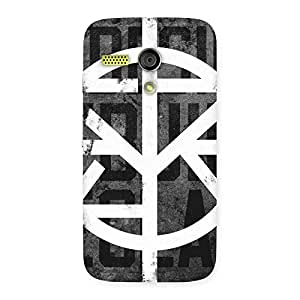 Special Redisgn Multicolor Back Case Cover for Moto G