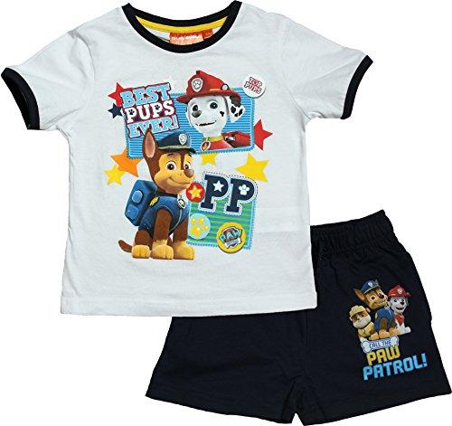 Paw Patrol Boys Best Pups Short Sleeve Pyjama Set By BestTrend