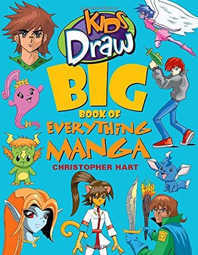 Kids Draw Big Book Of Everything Manga por Christopher Hart