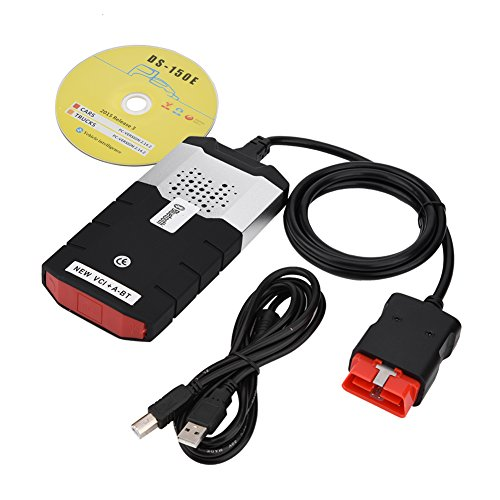 fosa Lecteur de Code de Défaut Bluetooth EOBD/OBD2 Outil de Diagnostic Voiture Multimarque de VD TCS CDP Pro pour EOBD/OBD II Standard Voiture/Camion