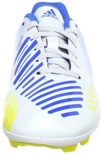 adidas Performance Predito LZ TRX HG J G64963 Jungen Fußballschuhe Weiß (RUNNING WHITE FTW / VIVID YELLOW S13 / PRIME BLUE S12)