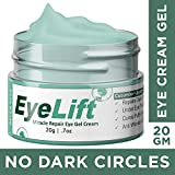 Bella Vita Organic EyeLift Eye Cream Gel for Dark Circles, Puffy Eyes, Wrinkles
