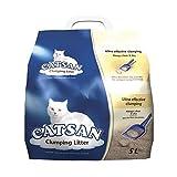 Catsan Katzenstreu, 5 l / 5.000 g, 3 Stück