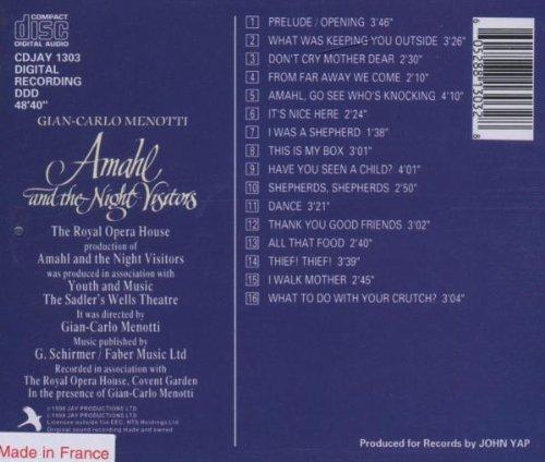 Amahl & the Night Visitors-Com