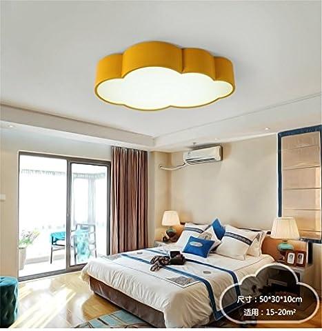 Lilamins Led-Decke Licht Kinderzimmer Wolken mich Park für Jungen und Mädchen führten zu Kinderzimmer LightingLighting für Wohnzimmer?Büro, Bad, Küche, Diele, bündig Deckenleuchten, 500 * 300 mm