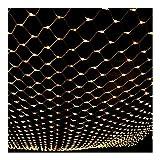 ASKLKD Collegabili/Luci Leggiadramente della Stringa Luce LED Net, Festa di Compleanno di Cerimonia Nuziale del Giardino al Coperto Decorazioni Esterne (Color : C, Size : 6mx4m 864led)