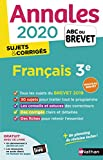 Annales ABC du Brevet 2020 Français...