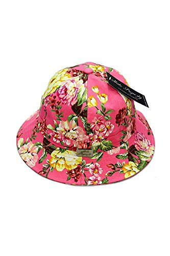 State-Property-Bucket-Cap-Floral-Pink