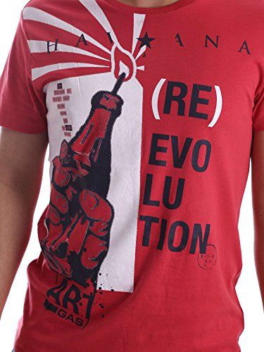 Gas 542888 T-shirt Man Red