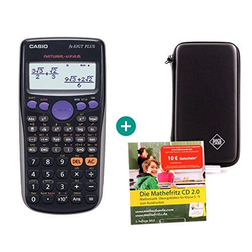 Casio FX-83GT Plus + Schutztasche + Lern-CD (auf Deutsch)