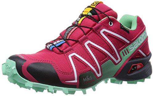 SalomonSpeedcross 3 GTX - Zapatillas de Running para Asfalto Mujer , color Rojo, talla 40