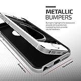 iPhone SE Hülle, VRS Design® Schutzhülle [Silber] Schlagfesten Stoßstangen TPU Bumper Case Kratzfeste Schlanke Handyhülle [High Pro Shield] für  Apple iPhone 5/5S/SE