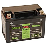 Orbis Gel12-14ZS Motorradbatterie - YTZ14-S 12...