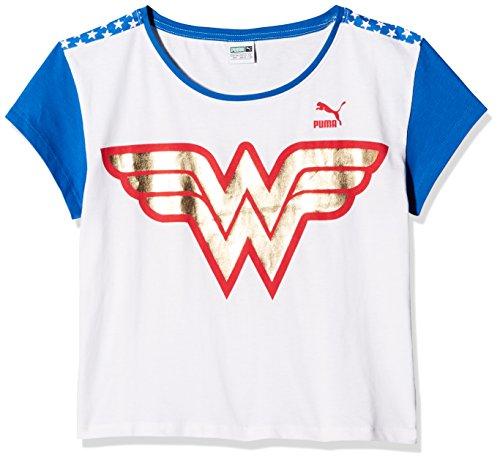 235f96489fc16 PUMA Wonder Women T-Shirt Enfant Puma White FR   2XL (Taille Fabricant