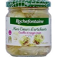 Rochefontaine Mini coeurs d'artichauts, calibre moyenne Le pot de 105g - Prix Unitaire - Livraison Gratuit Sous...