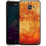 Samsung Galaxy A3 (2016) Housse Étui Protection Coque Feu Feu Motif