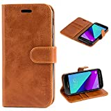 Mulbess Samsung Galaxy XCover 4 Case Wallet, Leather Flip