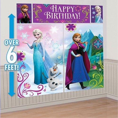 Disney Frozen Kit de décoration murale Scène Setter -