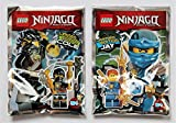 Lego Ninjago Movie 2017 - Set limitierte Figuren Jay + Cole - LEGO