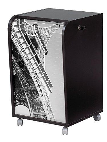 Simmob IBOX070NO751 Schreibtisch Bürotisch Eiffelturm, Holz/MDF, Melamin, 45 x 41.4 x 69,2 cm