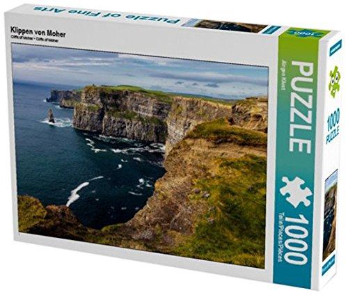 Preisvergleich Produktbild Klippen von Moher 1000 Teile Puzzle quer (CALVENDO Natur)