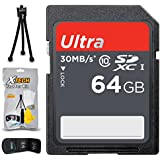 32GB SD Memory Card (High-Speed) + Xtech Starter Kit For Olympus Cameras Including Olympus Stylus 1S, Stylus SH-2, Stylus SH-1, Stylus SP-100, Stylus 1, Stylus XZ-10 (64GB Memory Card)