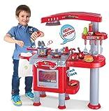 Cocina de juguete para niños - Juego de imitación con más de 30...