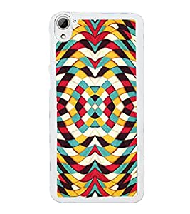 Fuson Abstract Art Design Designer Back Case Cover for HTC Desire 826 :: HTC Desire 826 Dual Sim (Abstact Art Paint Painting Illustrations)