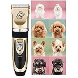 Amour-story Toilettage pour animaux Clipper Kits chien tondeuse Silencieux et chat coupe-poils silencieux rechargeable sans fil électrique