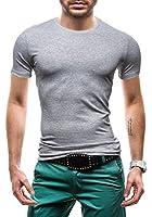 GLO STORY Herren T-shirt Figurbetont Kurzarm NEW! 6058
