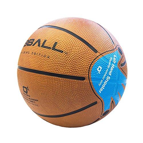Q4Kid de coaching et Formation de basket–Marron clair, Taille 5