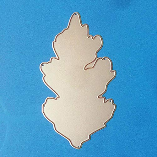 CTOBB Blumen-Umschlag Metallschneideisen für Scrapbooking Stencils DIY Album-Karten Dekoration Embossing Folder Die Cuts Cut, 70x132mm Blatt - Wort Folder Embossing