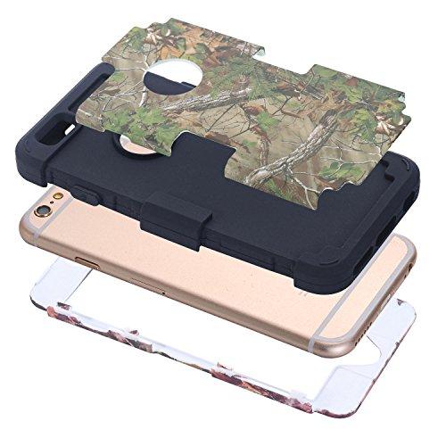C-Super Mall-UK Apple iPhone 5C Fall, 3 in 1 Design-Hybrid-Fest Zurück Bumper für Apple iPhone 5C LD6031706