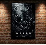 yhnjikl Alien Covenant Artwork Film Toile Affiche Mur Art Imprimer Enfants Décor Home Decor 40X60 Cm sans Farme
