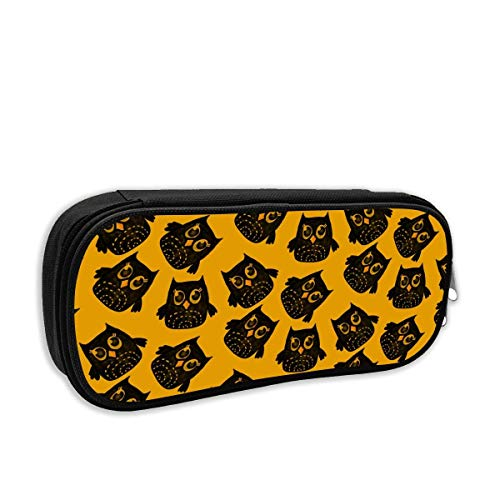 Owl Pencil Case Pouch Bag Multifunction Cosmetic Makeup Bag School Office Storage Organizer ()